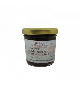 Confit oignons raisins