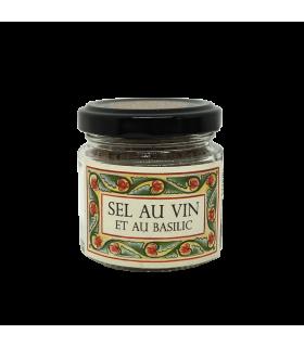 Sel au vin au Basilic