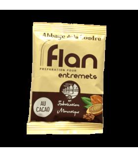 Flan cacao